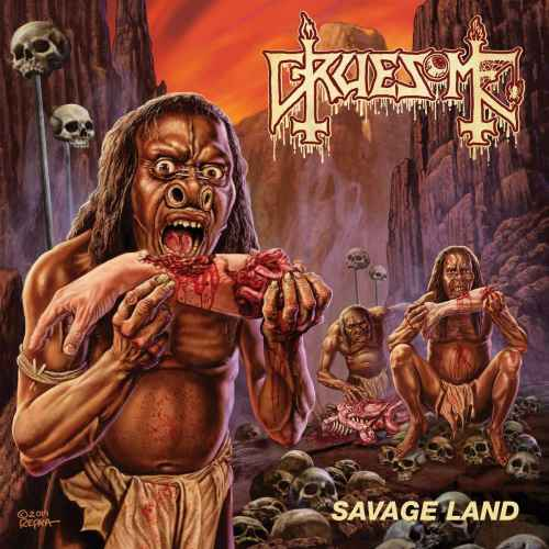 GRUESOME - Savage Land CD