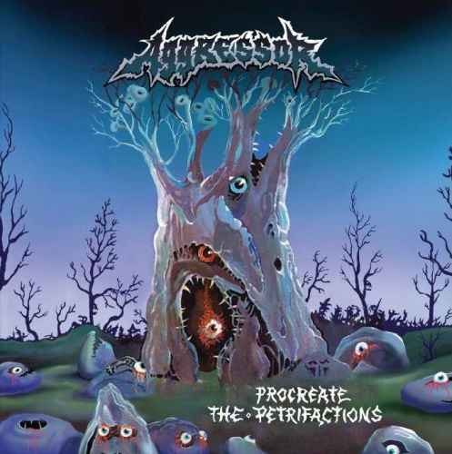 AGGRESSOR - Procreate the Petrifactions + Demo 1991 CD