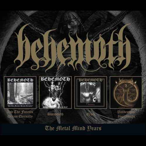BEHEMOTH - The Metal Mind Years 4CD BOX
