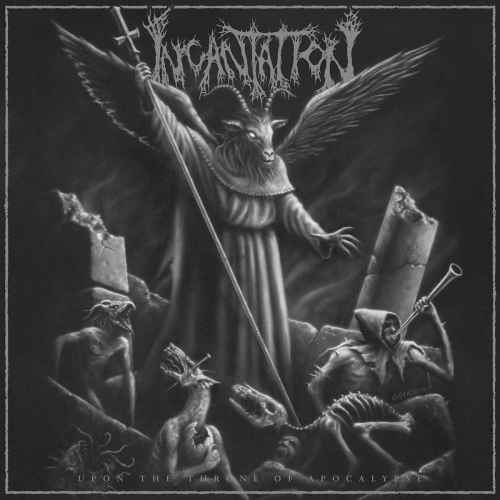 INCANTATION - Upon the Throne of Apocalypse Re-Release CD