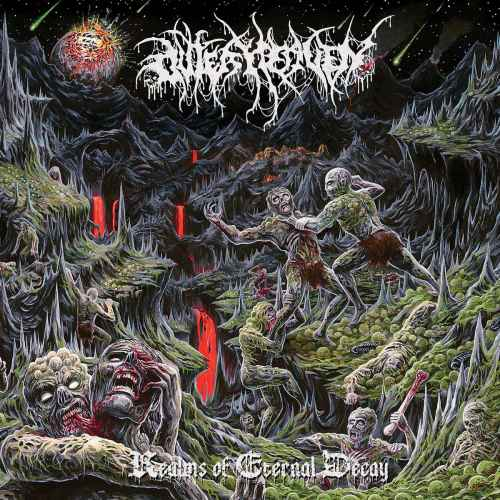 OUTER HEAVEN - Realms of Eternal Decay CD