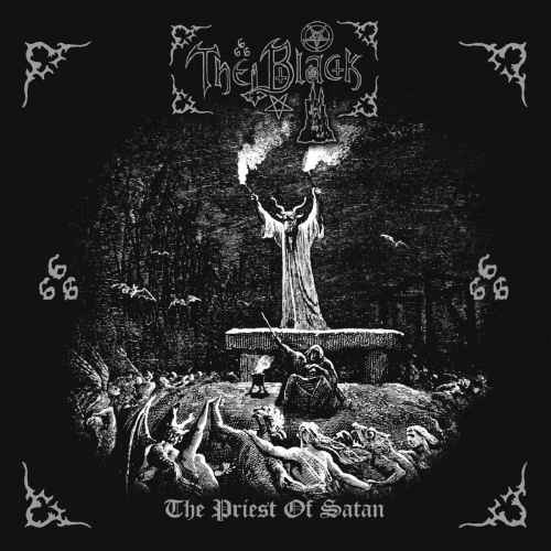 THE BLACK - The Priest Of Satan Re-Release CD