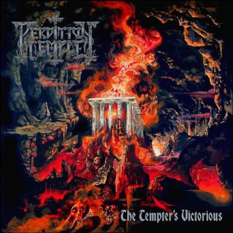 Satan Doomsday Clock 7 Black 8 99: PERDITION TEMPLE