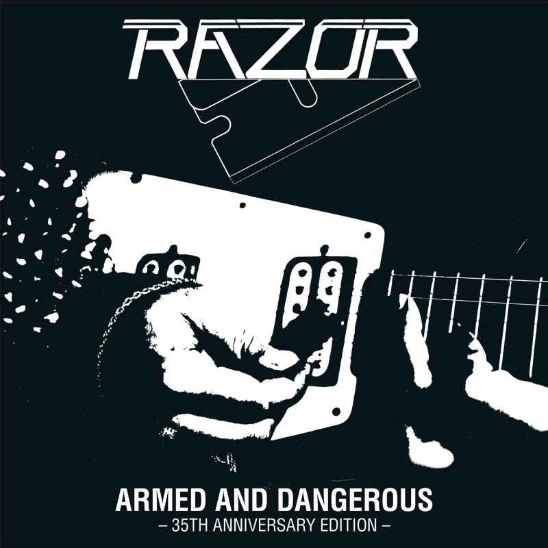 RAZOR - Armed and Dangerous - 35th Anniversary Edition CD