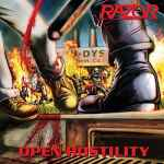 RAZOR - Open Hostility Re-Release CD